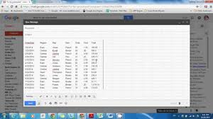 How To Copy And Paste A Chart How To Copy Paste Excel Tables Charts Into Gmail