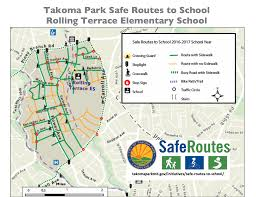 map your route  city of takoma park