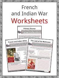 Complete Ohio River Charts Free Download French Indian War Facts Worksheets For Kids Seven