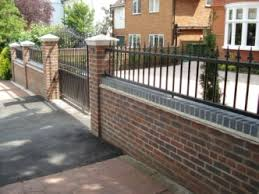 Small Picture Front Garden Brick Wall Designs Front Garden Brick Wall Designs