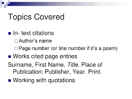 Quoting And Referencing Ppt Download