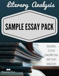 117 Best Literary Analysis Essay Writing Secondary Ela Images