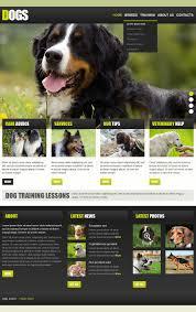 Dog Web Design Dog Facebook Html Cms Template 43850 Flyer Templates
