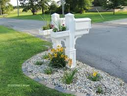 Mailbox landscaping ideas Designs Landscaping Around Mailbox Idea Here Idea Here Ideas For Landscaping Around Mailbox