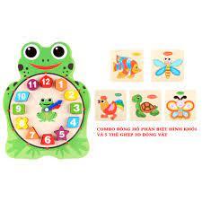 Combo đồ chơi giáo dục cho bé từ 1 đến 2 tuổi