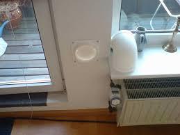 Mobile Klimaanlage Abluftschlauch