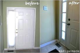Sidelight Panel Front Door Sidelight Curtains Appealing Front Door