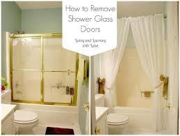 shower glass cleaner clean doors with vinegar door awesome how best