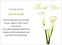 Thank You Note After Funeral To Coworkers Simple Sympathy Message Antonchan Co