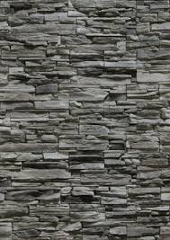 Creativity Black Stone Wall Texture Waterfall S And Decor