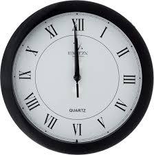 <b>Часы настенные Вега Римская</b> классика в черном 29см П1-6/6-47 ...