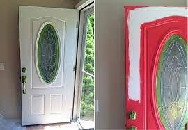 leaded glass door glass front door