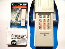 er garage door opener keypad universal remote klik2u