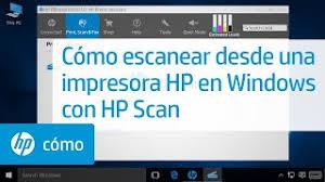 Scan menggunakan printer hp 1515 1510 tutorial 1. Como Escanear Desde Una Impresora Hp En Windows Con Hp Scan Hp Computers Hp Youtube