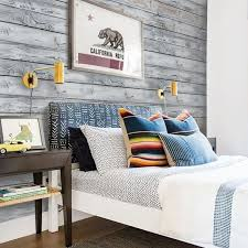 Charming Horizontal Vintage Grey Wood Style Removable Wallpaper