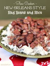 slow cooker red beans and rice slowcooker crockpot cajun