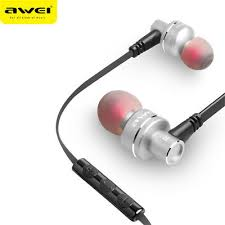 <b>AWEI ES</b>-10TY Metal 3.5mm In-Ear Headset Noise Isolation Stereo ...