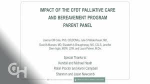 Perinatal Hospice Birth Plan Impact Of The Cfdt Perinatal Palliative Care And Bereavement Program