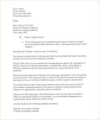 How To Write A Medical Appeal Letter Sample Insurance Appeal Letter