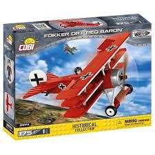 Конструктор Cobi Самолет Fokker Dr. I Красный ... - ROZETKA