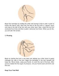 Reflexology Beginners Guide To Eliminate Pain Lose Weight