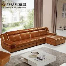 l shape furniture. Wooden Decoration L Shape Sofa Furniture Modern Lobby Design China Buffalo Leather Funitures Sets For Living Room 632-in Sofas From E