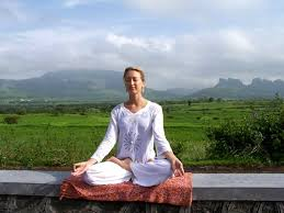 pranayama pose in this pose one should be steady and fortable firm yet relaxed