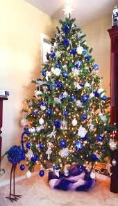 Office christmas decorating themes Hallway Office Christmas Decorating Themes Royal Blue White And Silver Are An Amazing Bo For Any Christmas Office Christmas Decorating Themes Royal Blue White And Silver Are