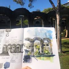 St Mary S Hospital Hobart My Chart Do You Do Thumbnails When You Are Out Sketching Liz Steel