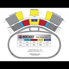 Seating Charts Get Tickets Kentucky Speedway
