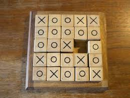 Naughts And Crosses Wooden Game Magnificent Tic Tac Toe Wooden Game Stock Photo Picture And Royalty Free Image