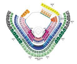 Petco Park Detailed Seating Chart Mlb Ballpark Seating Charts Ballparks Of Baseball