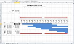 How To Build A Gantt Chart In Excel Critical To Success