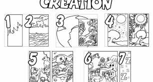 Small Picture 7 Days Creation Coloring Pages Free Coloring Pages Ideas
