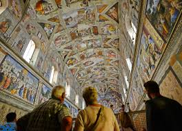 sistine chapel ceiling facts