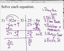 how to solve equations with fractions and variables on both sides