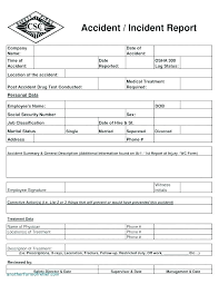 Police Report Writing Template Naomijorge Co