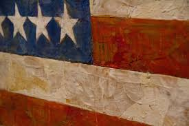 jasper johns 1954 55 encaustic paint on canvas