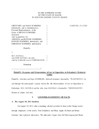 Adv. Trial Ad Response to Motion in Limine