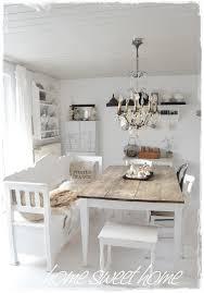 white dining table shabby chic country. Dining Room Whitewashed Cottage Chippy Shabby Chic French Country Rustic Swedish Idea Love The Bench And Table Just Needs Some Color! White R
