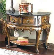 half circle foyer table round entry tables awesome moon decorating ideas images in decor half round