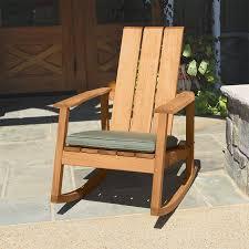 aspen adirondack rocking chair