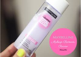 maybelline clean express total clean make up remover review and fab