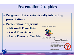 presentation graphics information technology lecture slides this is only a preview