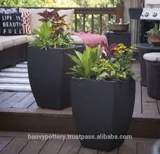 furniture fiberglass planters  modern outdoor planters wholesale