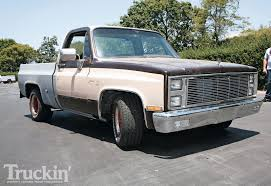 Truck chevy c10 project trucks : 1973 Chevy C10 Buildup - The Pickup Fix-Up Tour Photo & Image Gallery