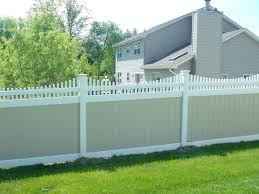 Vinyl fence designs Country Style Vinyl Fence Style Privacy Fence Designs Vinyl Fence Designs Popular Privacy Fence Fence Ideas Privacy Fence Vinyl Fence Nearsay Vinyl Fence Style Fences Chesterfield Curve Vinyl Designs Gray