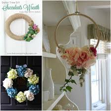 9 spring wreaths collage 2 4 dollar tree diy