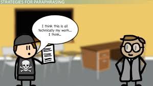 paraphrasing out plagiarism video lesson transcript paraphrasing out plagiarism video lesson transcript com