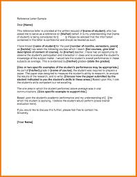 Sample Academic Recommendation Letter Academic Reference Sample Letter University Functional 16